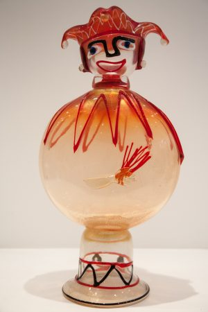 Figures in blown glass